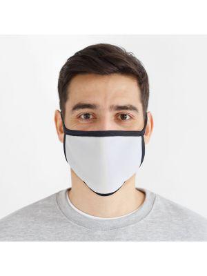Seguridad covid sublicover l xl máscara sublimación l xl de poliéster imagen 1