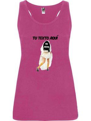 camiseta de tirantes de despedida novia zapatillas para mujer en color para personalizar vista 1