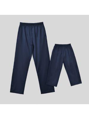 Pantalones técnicos roly corinto de poliéster con publicidad vista 1