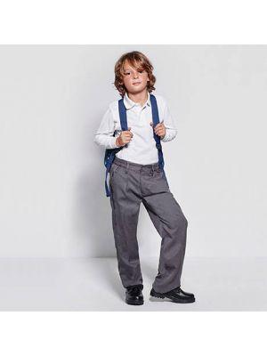 Pantalones roly preston de poliéster con publicidad vista 1