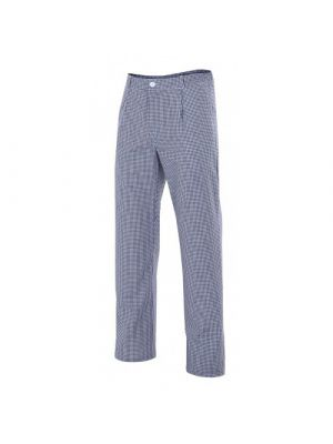 Pantalones de hostelería velilla de cocina cuadros de algodon vista 2