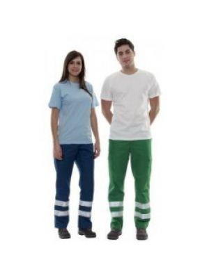 Pantalones de trabajo valento drill de poliéster vista 1