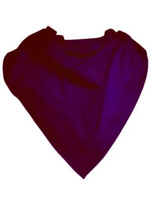 Pañuelos lisos cuadrado popelín 52x52 de poliéster para publicidad vista 1
