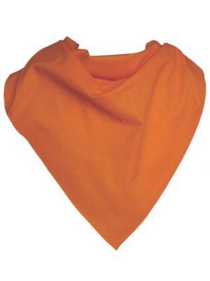 Pañuelos lisos triangular de algodón 70x100 de 100% algodón para personalizar vista 1
