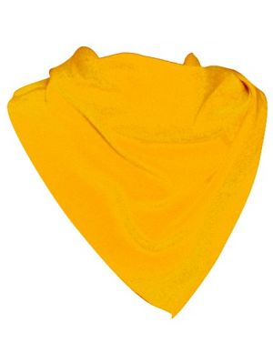 Pañuelos lisos triangular poliéster 70x100 de poliéster con publicidad imagen 1