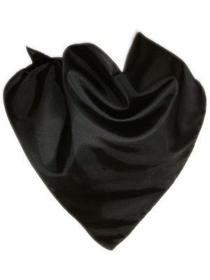 Pañuelos lisos triangular de algodón 57x80 de 100% algodón con logo vista 1