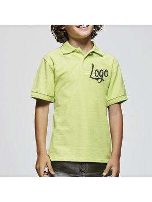 Polos manga corta roly pegaso child de poliéster con impresión vista 2