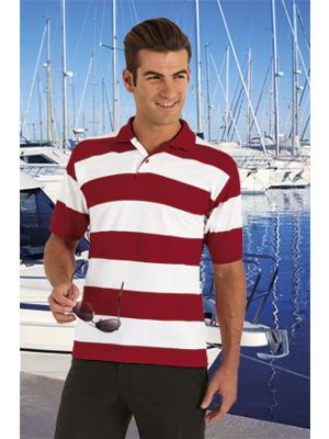 Polos manga corta valento nautical de algodon imagen 1