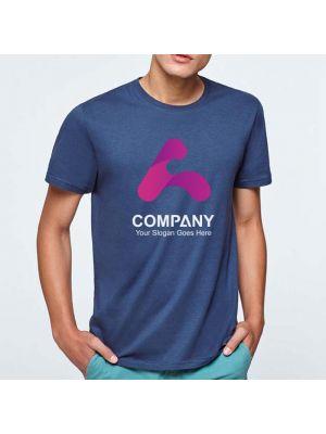 Camisetas manga corta roly beagle de 100% algodón con publicidad vista 2
