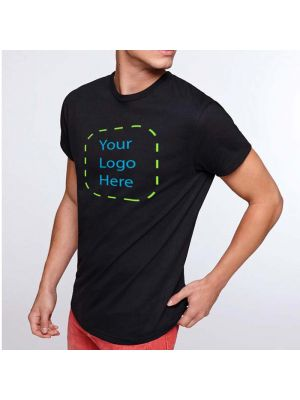 Camisetas manga corta roly atomic 180 de 100% algodón vista 1