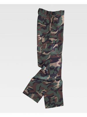 Pantalones reflectantes workteam s3350 de poliéster con impresión vista 2