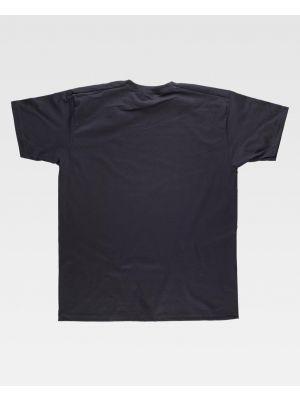 Camisetas de trabajo workteam clasica manga corta algodon con impresión imagen 2