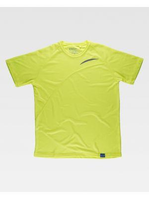 Camisetas de trabajo workteam s6610 de poliéster con impresión imagen 2
