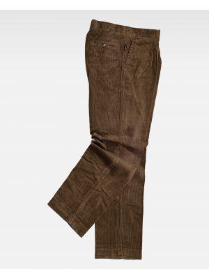 Pantalones de trabajo workteam s7015 de 100% algodón vista 1