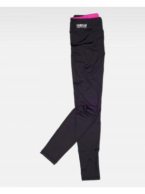 Fitness workteam pantalon deportivo s7501 de poliéster con impresión imagen 2