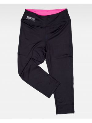 Fitness workteam pantalon deportivo s7502 de poliéster con logo imagen 2