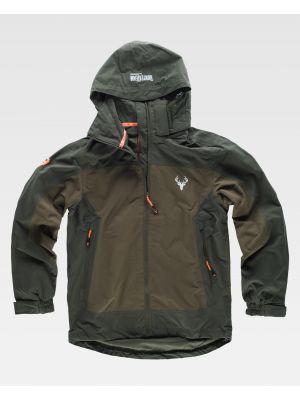 Chaquetas y cazadoras de trabajo workteam chaqueta deportiva s8220 de poliéster con logo imagen 2