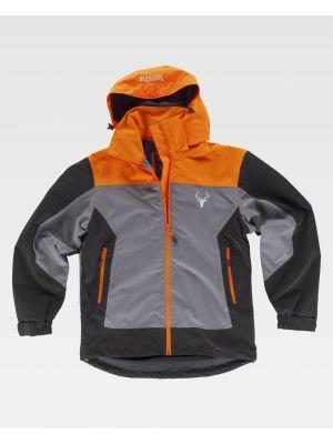 Chaquetas y cazadoras de trabajo workteam chaqueta deportiva s8225 de poliéster con logo vista 1