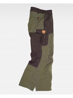 Pantalones de trabajo workteam s8310 de algodon vista 2