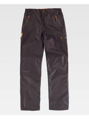 Pantalones de trabajo workteam s8330 de poliéster vista 2