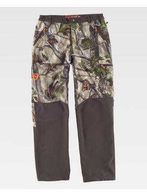 Pantalones de trabajo workteam s8365 de 100% algodón con logo vista 1