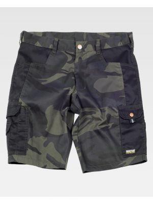 Pantalones de trabajo workteam s8516 de poliéster con logo vista 2