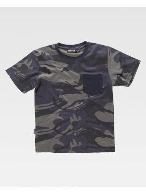 Camisetas de trabajo workteam s8520 de 100% algodón imagen 2