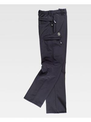 Pantalones de trabajo workteam s9800 de algodon vista 2