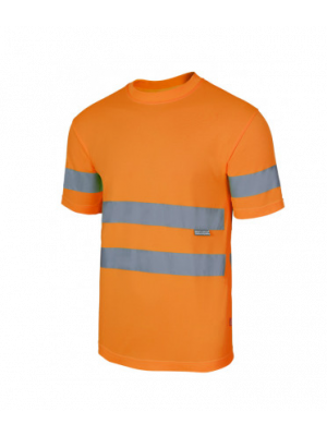 Camisetas reflectantes técnica alta visibilidad imagen 1