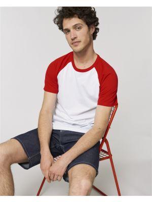 Camisetas manga corta stanley stella catcher short ecológico con publicidad vista 1