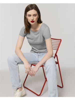 Camisetas manga corta stanley stella jazzer ecológico con publicidad vista 1