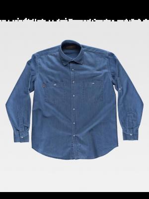 Camisas de trabajo workteam basic industrial para personalizar vista 1