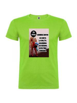 Camisetas despedida hombre de manga corta torero 100% algodón vista 1