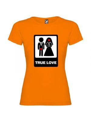 Camisetas despedida mujer para mujer con diseño true love especial 100% algodón para personalizar imagen 1