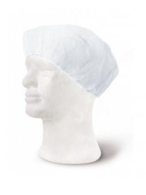 Gorros de cocina gorro desechable unidad de venta: caja de 100 uds no tejido con logo imagen 1