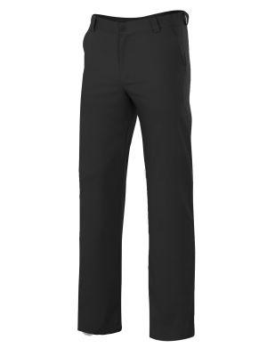 Pantalones velilla velverdejo de algodon con logo vista 1