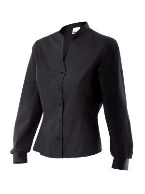 Camisas de trabajo velilla trabajo mujer entallada de algodon vista 1