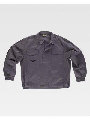 Chaquetas y cazadoras de trabajo workteam cazadora algodon cuello camisero de 100% algodón con impresión imagen 1