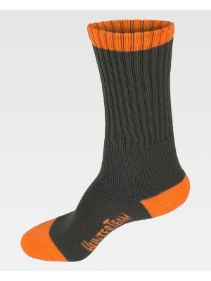 Complementos de industria workteam calcetines wfa022 de acrílico con impresión imagen 2