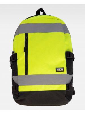 Complementos de industria workteam mochila wfa401 de poliéster con impresión vista 2