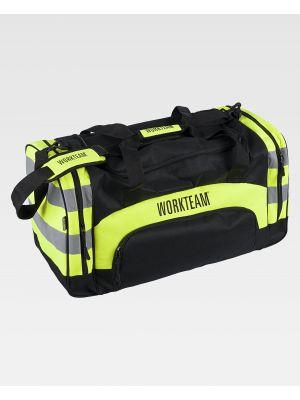 Complementos de industria workteam mochila wfa403 de poliéster con impresión vista 2