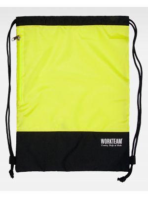 Complementos de industria workteam mochila wfa404 de poliéster con impresión imagen 1