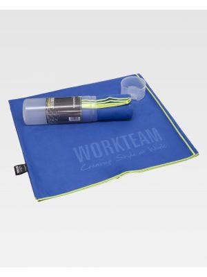Toallas y albornoces workteam wfa450 de poliéster con logo imagen 1