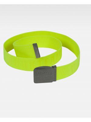 Complementos de industria workteam cinturon wfa501 de poliéster con impresión imagen 1