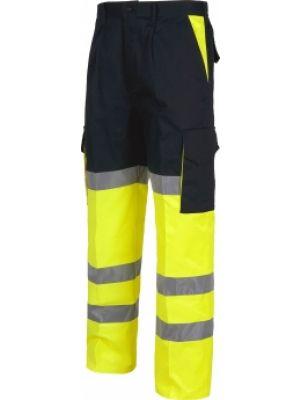 Pantalones reflectantes workteam combinado alta visibilidad imagen 1