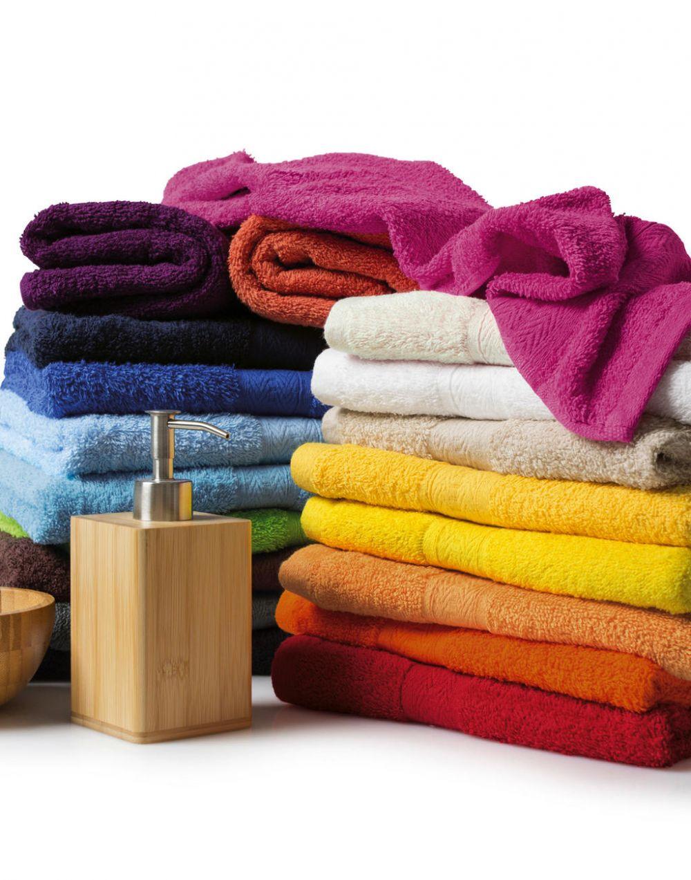 Toallas y albornoces towels by jassz de invitados rhine 30x50 cm con publicidad vista 2