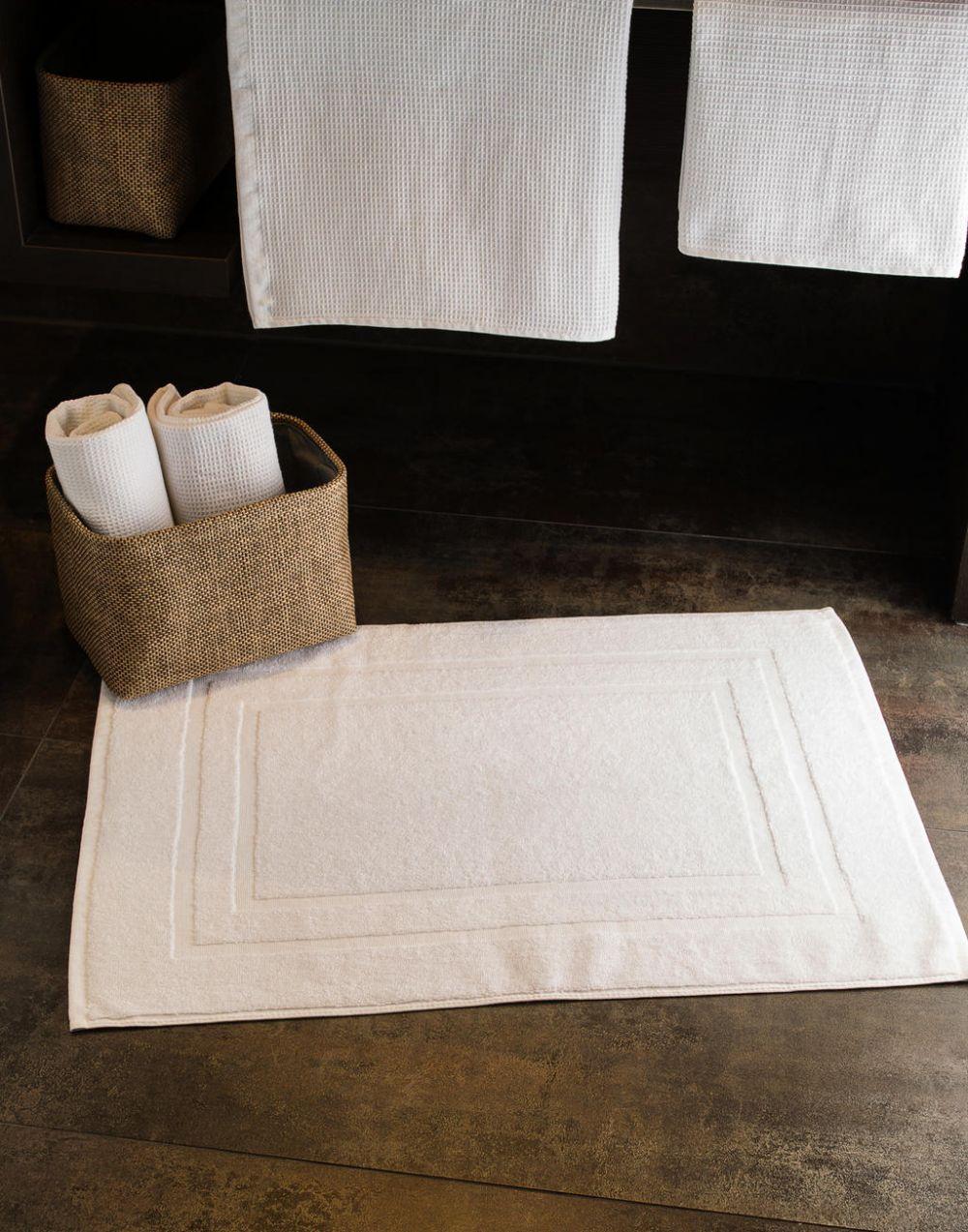 Toallas y albornoces towels by jassz alfombrilla baño tiber 50x70 cm con publicidad imagen 1