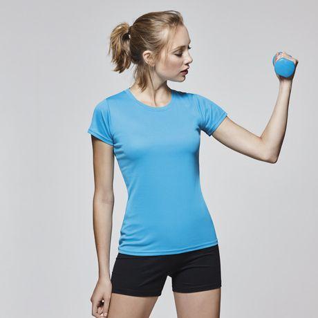 Camisetas técnicas roly montecarlo mujer de poliéster imagen 1