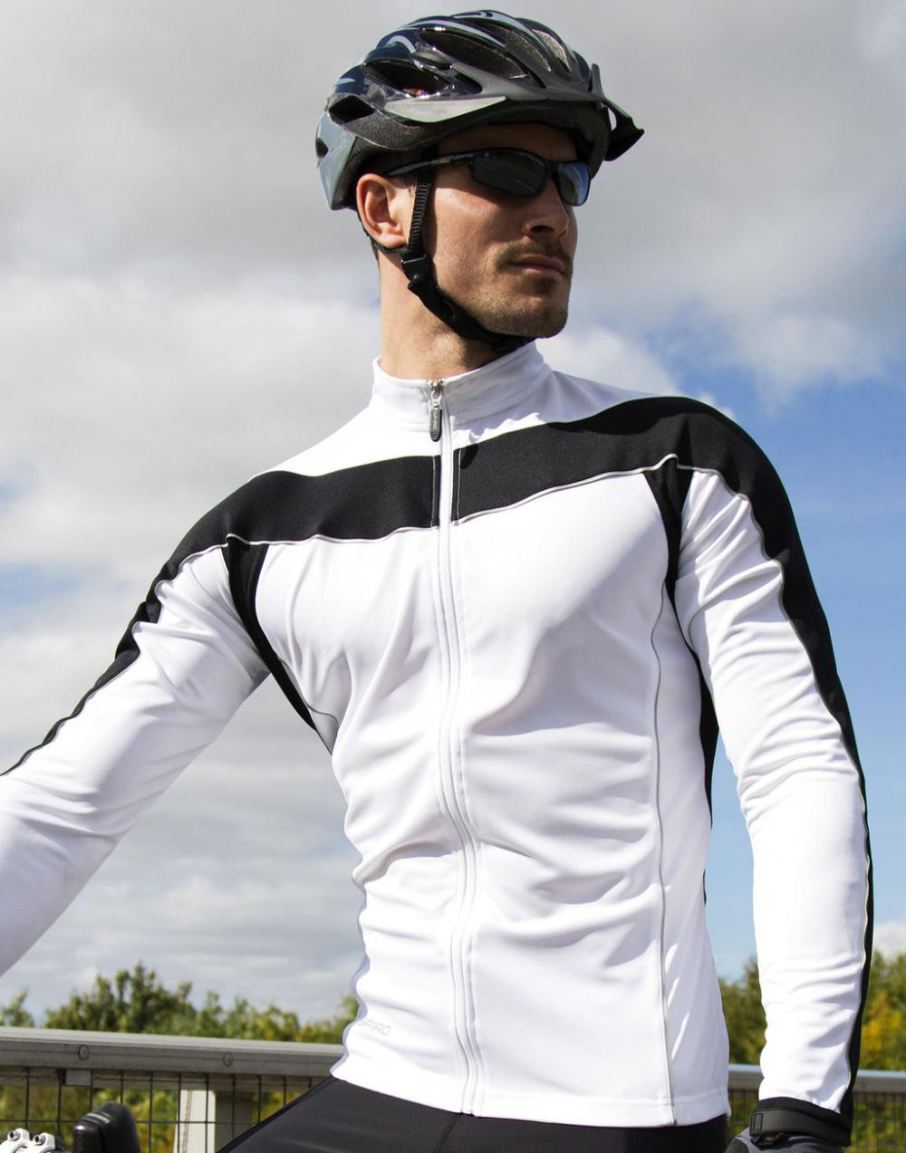 Equipaciones deportivas result top ciclismo manga larga hombre vista 3