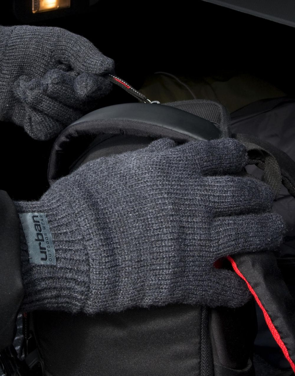 Guantes invierno result guantes thinsulate con forro con publicidad vista 1